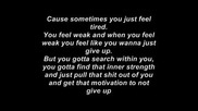 Eminem - Till I collapse Lyrics (feat. Nate Dogg)