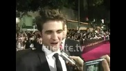 Robert Pattinson: I am Picky About Everything - at the Twilight Saga New Moon Premiere