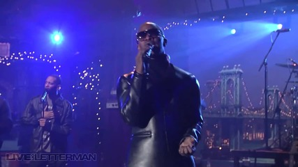 Jamie Foxx - Fall For Your Type [live on letterman]