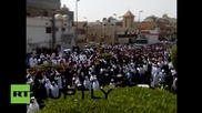 Saudi Arabia: Mass funeral takes place for 21 killed in suicide bomb on Shia mosque