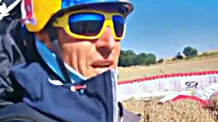 Весо Овчаров след състезанието Air and Water Need Good Wings