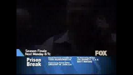 Prison Break Season 1 Episode 22 Preview