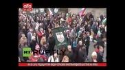 Редица руски медии отразиха многохилядното шествие на Атака /04.03.2016 г./