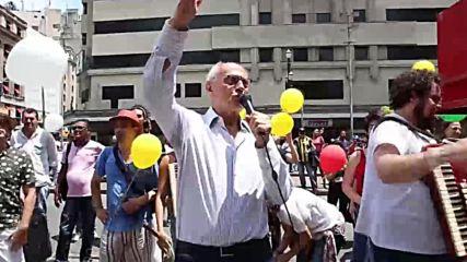Brazil: #NotHim movement rallies against election frontrunner Bolsonaro