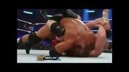 Brock Lesnar Does Kimura Lock On Triple H