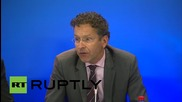 Belgium: Eurogroup approve third Greek bailout deal, confirms Dijsselbloem
