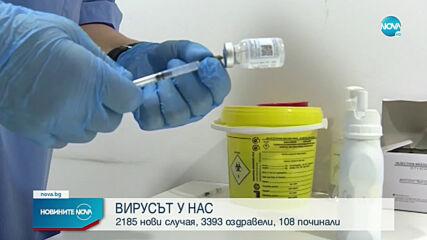 Лек спад в броя на новите случаи на COVID-19