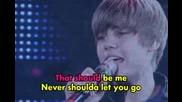 Justin Bieber - That should be me [ instrumental ]