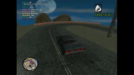Drift on Gta Samp but the game crash :d :d