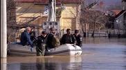 Обявиха извънредно положение в цяла Сърбия заради наводненията