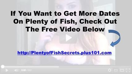 Plenty Of Fish Secrets - Secret That Has Eluded Men For Years