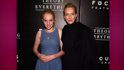 Uma Thurman's Daughter is the Spitting Image of her Mother
