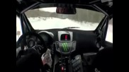 Ken Block Drift new Ford Fiesta 2011 on Snow and Ice Hd