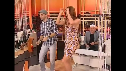 Jelena Vuckovic i DJ Vujo - Dragane - Utorkom u 8 - (TvDmSat 2013)