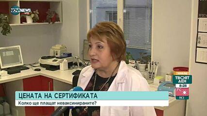 10 лв. за зелен сертификат чрез антигенен тест в Русе