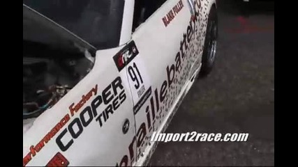 Drift 350z turbo Vs 350z Supercharged Nissan