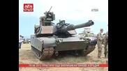 Пристигат още американски танкове и оръдия - 18.08.2015 г.