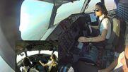 Жена пилот умело приземява Atr 72-500