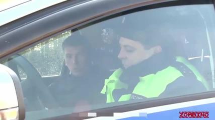 Руснаците ползват дрон, за да хващат нарушители на пътя