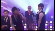 Super Junior - Neorago + Sorry Sorry [sbs Inkigayo 090621]