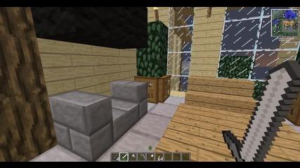 Minecraft постройка 2