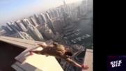 Екстремен Freerun and Parkour по небостъргачи. Истински Самоубийци