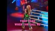 Hannah Montana - If We Were A Movie (karaoke)