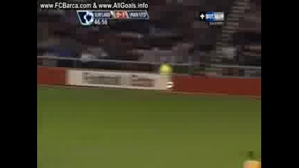 Съндърланд 0 - 3 Манчестър Юнайтед (Роналдо)