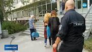 Иванчева влезе в болница, окована с белезници на ръцете и краката