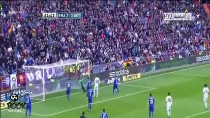 Cristiano Ronaldo Amazing Hattrick dedicated his mother Real Madrid Vs Getafe 27-01-2013