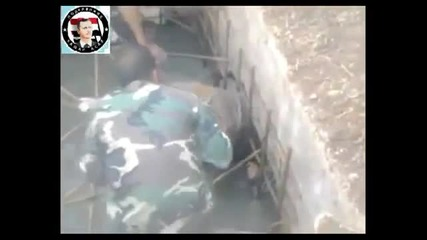 Сирийската армия изважда терористи от канализацията