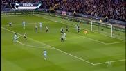 Манчестър Сити - Нюкасъл 5:0, 26-и кръг, Висша лига