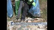 Кметът Йорданка Фандъкова се включи в пролетното почистване на София