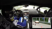 Lamborghini Ugr fire at a speed of 402 km_h (2005 Hp) On board