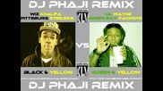 Wiz Khalifa vs. Lil Wayne - Black and Yellow vs. Green and Yellow