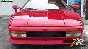 Ferrari Testarossa Capristo Exhaust