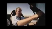 Ford GT(550hp) Срещу Ford GTX1(700hp) - Top Gear