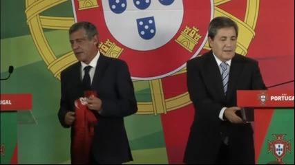 ВИДЕО: Португалия представи Сантош и екипа му