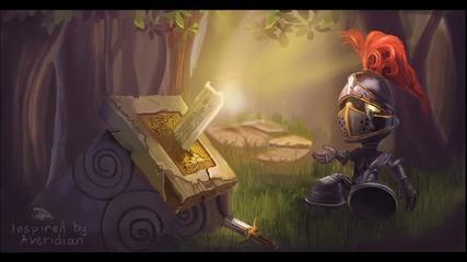Рисуване на Little Knight Amumu от League of legends