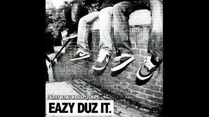 Eazy E - 2 Hard Muthafuckas - [ Eazy Duz It 1988]