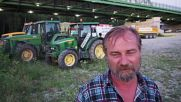 Slovakia: Farmers drive tractors to capital to protest alleged EU subsidy fraud