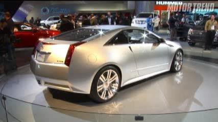 2008 Detroit: Cadillac Cts Coupe Concept