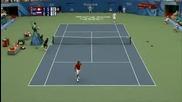 Олимпийски Тенис Турнир : Федерер - Турсунов
