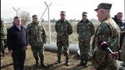 Македония издигна втора ограда на границата с Гърция