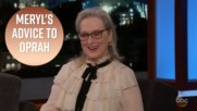 Meryl Streep's White House suggestions