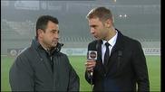 Петър Пашев: Мачът свърши след червения картон, играхме добре