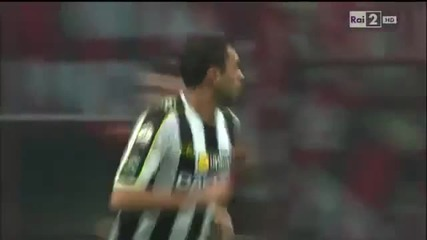 Милан загуби от Удинезе и отпадна от турнира за Купата на Италия ( Милан - Удинезе 1-2)