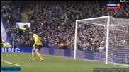Chelsea vs Manchester United Demba Ba Goal 01 04 2013