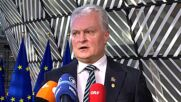 Belgium: Lithuanian Pres Nauseda calls migration 'hybrid attack' by Belarus as leaders arrive for European Council summit