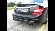 Mercedes - Benz C 6.3 Amg exhaust